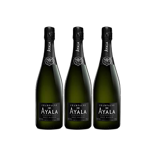 Champagne Brut Majeur - Maison Ayala - Rebsorte Chardonnay, Pinot Noir, Pinot Meunier - 3x75cl - 92/100 Wine Spectator