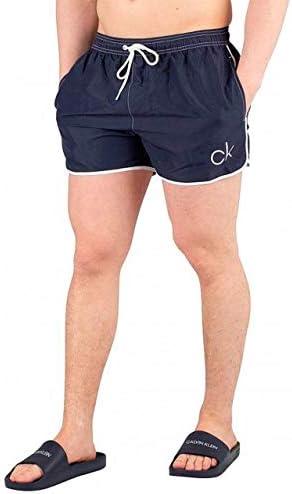Calvin Klein Men's Short In a popularity Blue Over item handling ☆ Swimshorts Runner