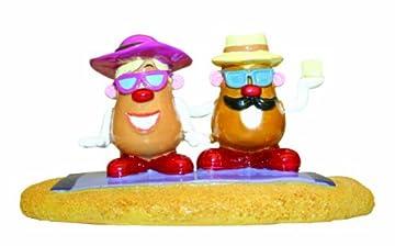 Sunbathing Mr Potato Head