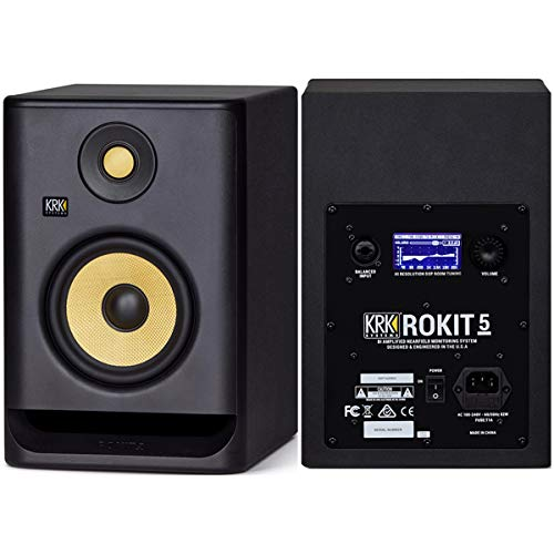KRK ROKIT G4 Series アクティブスタジオモニター RP5G4 (ペア) 【国内正規品】