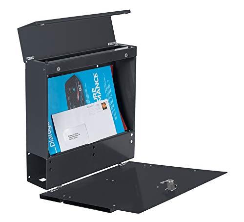 Frabox LENS Briefkasten Anthrazitgrau Design - 4
