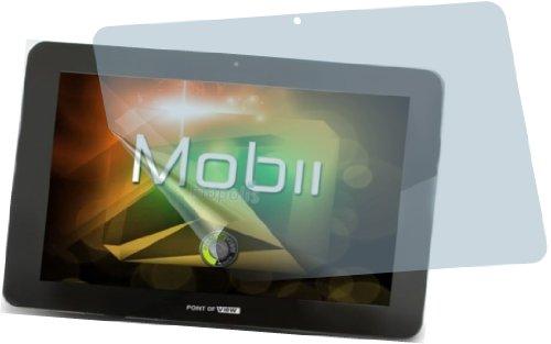 I 4X Point of View Mobii 1045 Premium Bildschirmschutzfolie Displayschutzfolie Schutzhülle Bildschirmschutz Bildschirmfolie Folie kristallklar