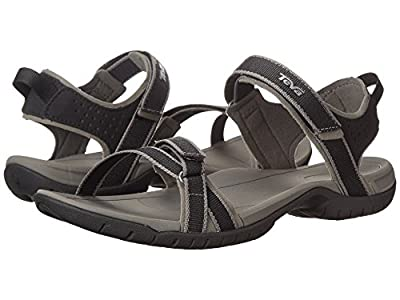 Teva Women's Verra Black/Grey Sandal 8.5 B (M)