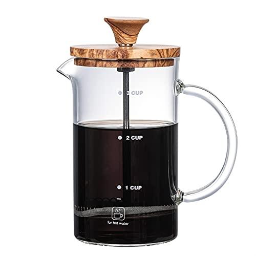 Máquina De Café Máquina De Espresso De Cristal De Espresso De Espresso De Espresso. (Color : Transparent)