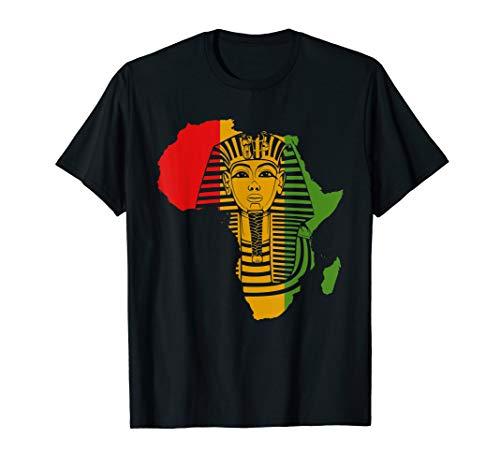 African Gift for Men Egyptian Pharaoh King Tut Dashiki T-Shirt