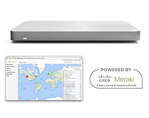 Cisco Meraki MX68 Router Security Appliance Includes 3 Year Enterprise License