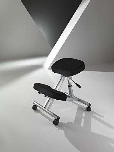 Wink design, Sedia sgabello Ergonomico TORRANCE, Alluminio