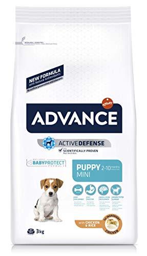 ADVANCE Puppy Mini - Pienso Para Cachorros De Razas Pequeñas Con Pollo - 3 kg