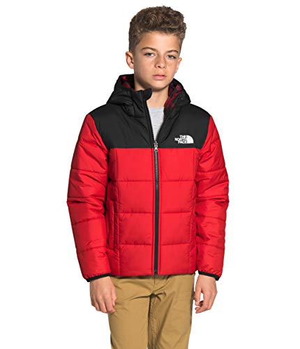 The North Face Boys' Reversible Perrito Jacket, TNF Red, L