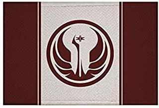 U24 Aufnäher Star Wars Alte Republik Fahne Flagge Aufbügler Patch 9 x 6 cm