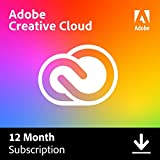 Adobe Creative Cloud |Entire collection of Adobe creative tools plus 100GB storage | 12-month...