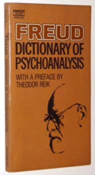 Paperback Freud: Dictionary of Psychoanalysis Book