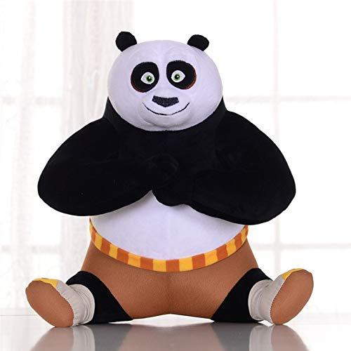 Thombi90 Store Stuffed Animal Movie Kung Fu Panda Toys Plush Doll Kungfu Panda Stuffed Dolls Toy Anime Animals Collectible for Children Kids Birthday Gifts-Sitting-35cm