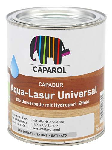 Caparol Capadur Aqua Lasur Universal Acryllasur Holzlasur Universallasur (0,75L, farblos)