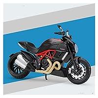 ダイキャストモデルモーターサイクル 1:12に適用する DUCATI1199パニガーレ合金ダイキャストオートバイモデル実行可能なショックアブソーバー子供ギフトおもちゃコレクション (Color : 6)