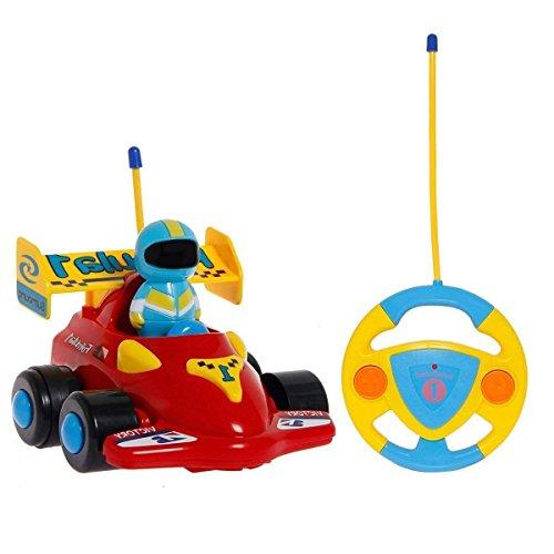 PowerLead RC Cartoon-Rennauto Action-Figur, ferngesteuertes Spielzeug mit Musik, tolles Geschenk für Kleinkinder und Kinder