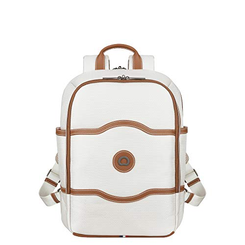 DELSEY Paris Chatelet Soft Air Travel Laptop Rucksack, Champagner, Einheitsgröße 40177460115