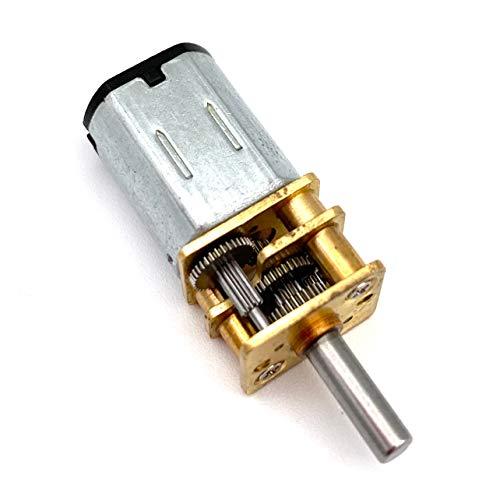 DC Motor 12V Micro Speed Gear Motor N20 Mini Metal Electric Gear Reducer Motor 60-6000Rpm Reduction Gear Motor Geared DC Motors - (Speed(RPM): 2000 RPM; Voltage(V): 12V)
