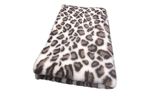 Vetbed Premium I Leopard Creme-braun I 75 x 100 cm