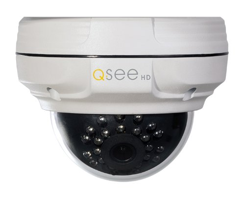 Q-See QTN8032D Cámara de seguridad IP Interior y exterior Almohadilla Blanco 1920 x 1080Pixeles - Cámara de vigilancia (Cámara de seguridad IP, Interior y exterior, Almohadilla, Blanco, Techo, Resistente al polvo)