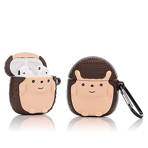 Hedgehog case for Apple Airpods 1&2 - Hedgehog Themed Gifts