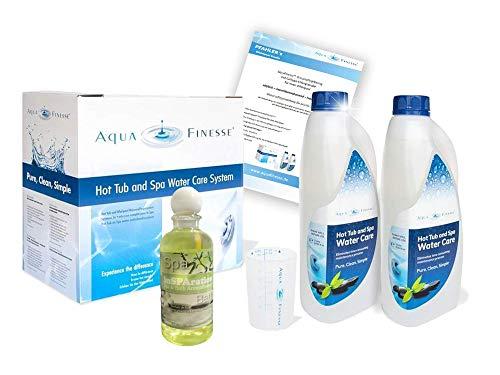AquaFinesse mit Chlortabletten + Whirlpoolduft und ausführliche Wasserpflegeanleitung GRATIS   Kostenlose Whirlpool-Wasserpflege Beratung