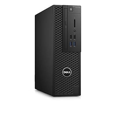 Dell Precision T3420 Workstation Desktop Computer, Intel Core i5-6500, 8GB DDR4, 1TB Hard Drive, Windows 10 Pro PRT3420-1112 (Renewed)
