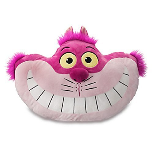 Disney - Cheshire Cat Plush Pillow - 17'' - New by Disney