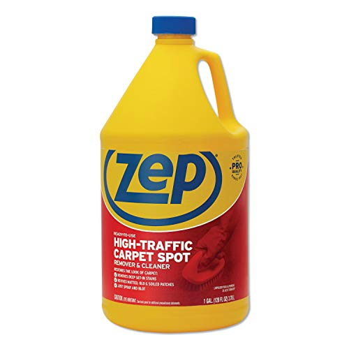 Zep Commercial Zuhtc128 1 Gallon High Traffic Carpet Cleaner