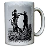 Soldaten mit Schäferhund Wh DSH Deutscher Wachhund Deutsche - Tasse #9588