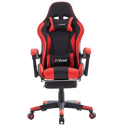 Silla de juegos, silla de juegos, silla de carreras, silla de PC, silla de respaldo principal, silla de oficina Nombre de estilo. talla 4