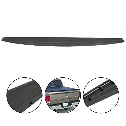 Tailgate Protector Spoiler Top Cap Molding Cover Compatible For Dodge Ram 1500 2500 3500 2009 2010 2011 2012 2013 2014 2015 2016 2017 2018