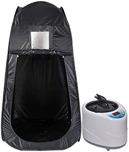 AXAXA 4L Tragbare Dampfsauna Größere Sauna Zeltdampfer Ganzkörper-Sauna Spa-Maschine Saunakabine Zur Entgiftung Und Gewichtsabnahme Nach Hause Falten,Rosa