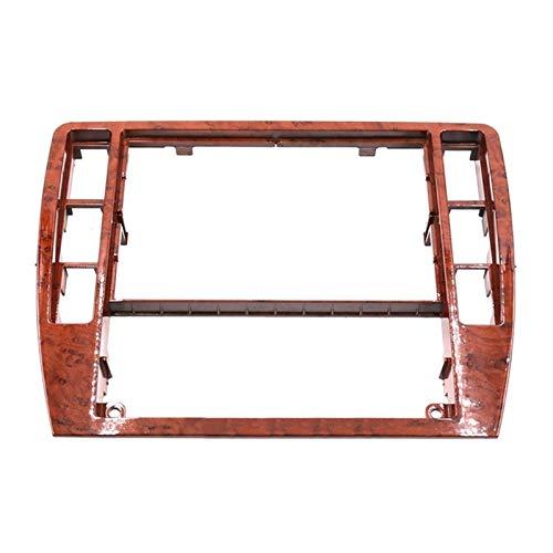 WeiYang Ajuste para Passat B5 Middle Escutcheon Centro Caja Decorativa Cuadro De Control Panel De Consola Grabadora De CD Frame Radio Face Riet 3B0 858 069 (Color Name : Wood)