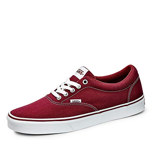 Vans Herren MN Doheny Sneaker, Rot ((Canvas) Oxblood/White 8J3), 43 EU