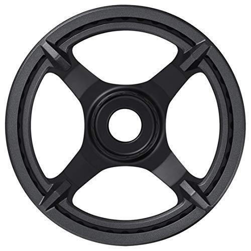 SHIMANO SM-CRE61 38T - Pasos para Cadena de Bicicleta, Color Negro