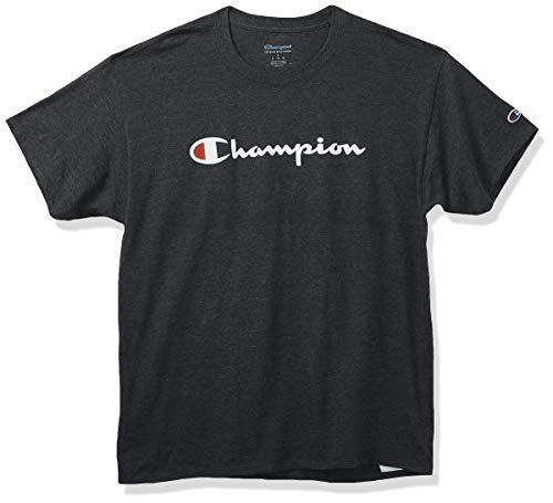Champion Herren Classic Jersey Graphic T-Shirt, Dunkelgrau, Mittel