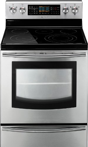 Samsung FE710DRS 30 In. Freestanding Electric Range with...