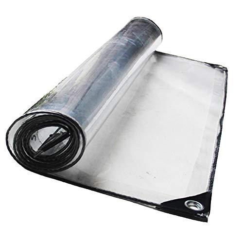 Bâche Toile De Protection Transparente Imperméable À l'eau De Pluie Épaisse, Chambre De Soleil, Transparente, 20 Tailles (Taille : 3x3m)