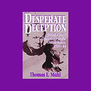 Desperate Deception audiobook cover art