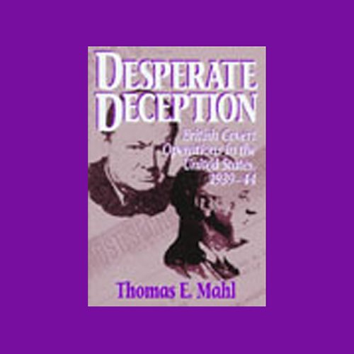 Desperate Deception audiobook cover art