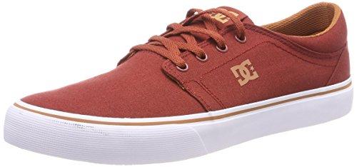 DC Shoes TRASE TX Zapatillas Hombre, Rojo (Rojo/(Burg Burgundy) Bur), 41 EU