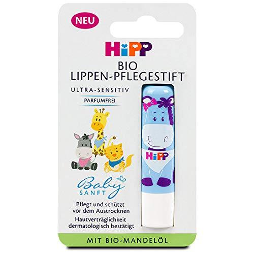 Hipp Babysanft Organic Lip Care Stick Rouge à lèvres, 4.8g