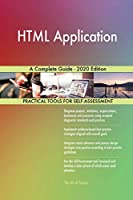 HTML Application A Complete Guide - 2020 Edition