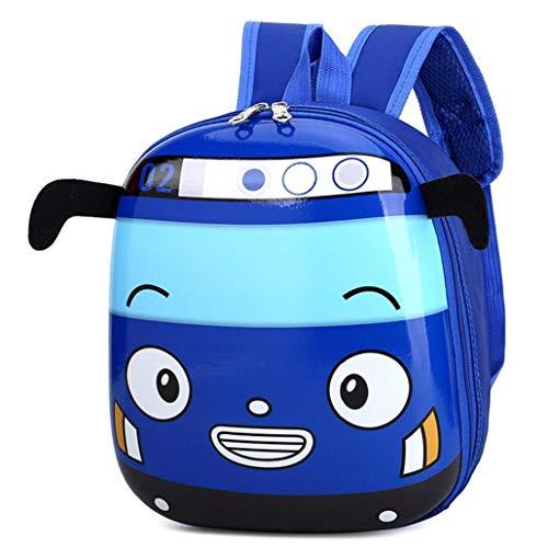 Kindergarten 3D Nette Eierschale Design-Rucksack Boy Reise Karikatur-Auto-Rucksack Kinder Rucksack für 3-6 Jahre alt