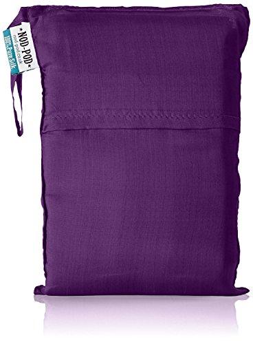 Nod-Pod 100% Soie Drap de Sac de Couchage (Violet)