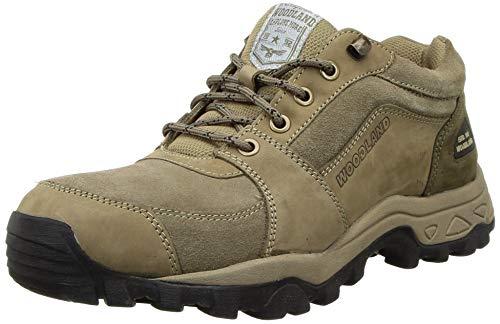 Woodland Casual Laceup ShoesDUBAI KHAKI10, 10 UK (44 EU) (OGC 3608119_Dubai Khaki)