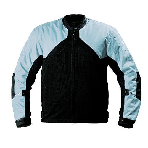 Fulmer, LJ134BLUM, Women's Supertrak II Motorcycle Jacket Textile/Mesh CE Armor - Blue, M