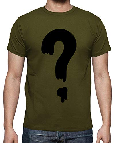 tostadora - Mnner - T-Shirt Frage - Schwere Flle Armeegrün XL
