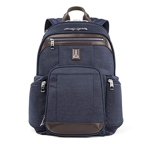 Travelpro Platinum Elite - 17-Inch Business Laptop Backpack, True Navy, 17.5-Inch